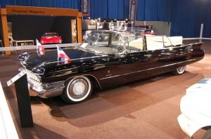 Der Cadillac, in dem einst Tito chauffiert wurde