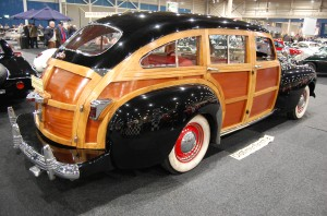 Traumhafter Woody: Chrysler Town & Country