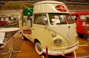Lecker Auto: VW T1 Eiswagen im Topzustand