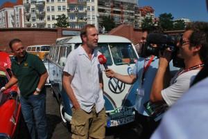 Eine Rolle, die ihm gefiel: T1-Fahrer Lohmeyer im Interview