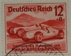 Briefmarke 1939 Silberpfeile