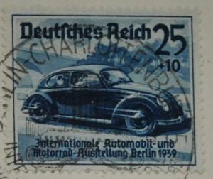 Briefmarke 1939 KdF-Wagen