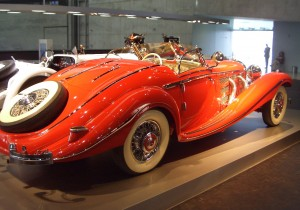 Mercedes 50 K Spezial-Roadster, Heck